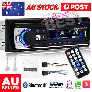 Bluetooth Car In-dash Radio Stereo Audio Head Unit MP3/USB/SD/AUX-IN/FM Player