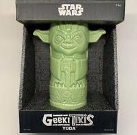 NEW Star Wars - Yoda - Geeki Tiki 1 12oz Mug - Brand New - Still In Box!