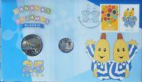 2017 Australia PNC 20c + 5c UNC Coins - Bananas in Pyjamas 25 years