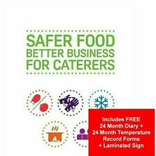 More details for 2021 safer food better business sfbb & 24 month diary full pack + 24 temp + sign