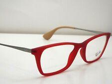 f5b502a7da Authentic Ray-Ban RB 7053 5525 Red Gunmetal Eyeglasses Frame  200