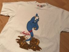 Aladdin Disney Shirt Large vtg 90 lion king robin williams beauty and the beast