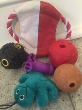 Hundespielzeug Futterball Leckerlie Spender Snackball Hunde Spielzeug Gummi Ball