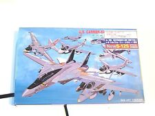 Pit Road 1/700 US Carrier Planes S-12S with Special Metal Plane A-3B Sky Warrior