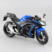 Kid 1:12 scale Kawasaki Ninja 300 250R SE model Motorcycle moto bike diecast toy