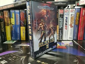Golden Axe 3 sega Megadrive Pal perfect complete with box and manual