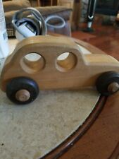 Vintage Tucker Toys Wooden Car Made in USA