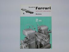 1945 Ferrari Auto Avio Brochure 815 125 166 212 250 275 330 365