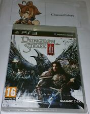 Dungeon Siege III (3) RPG PS3 New Sealed UK PAL Version Game Sony PlayStation 3