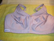 EXC Glamorise Magic Lift Active Support Wire Free Bra 42F BEIGE #1006 FR/SHP