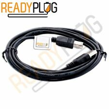 10ft USB Printer Cable A to B Black for: HP, CANON, DELL, BROTHER