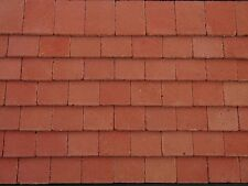 250 Real Brick 1:12th Victorian Red Miniature Roof Tiles for Dollshouses