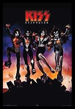 (FRAMED) KISS DESTROYER ALBUM POSTER 96x66cm PRINT PICTURE HOME DECOR