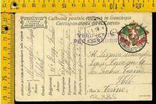WW1 Posta Militare franchigia prima guerra Q 885 Cavagnolo Torino