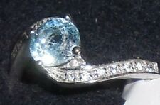 Sterling Silver Blue Topaz Ring by AVON Size 7 free shipping in US
