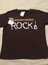 Gymboree Dinosaurs Rock Boys Shirt Size 12-18 Months Guitar Nwt