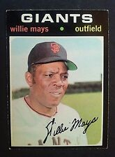 1971 Topps Willie Mays  #600, San Francisco Giants, SF, EX+