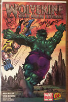 Wolverine Old Man Logan 66 DF Signed John Romita Sr & Remarked Ken Haeser W/COA