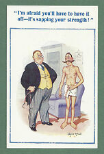 C1940'S DONALD McGILL PC IT'S SAPPING YOUR STRENGTH! - DOCTOR THEME