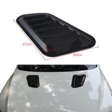 2x Auto Car Decorative Air Flow Intake Scoop Turbo Bonnet Vent Cover Hood Carbon