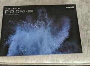 Dell AMD Radeon Pro WX 4100 4GB GDDR5 Quad Mini Displayport Graphics Card HFXTY