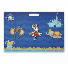 Dumbo Minnie Mouse: The Main Attraction Pin Set – Disney Dumbo IN HAND
