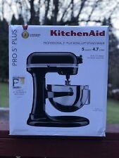 KitchenAid Pro 5 Plus 5 Quart Stand Mixer Matte Black SHIPS TODAY 🚚💨