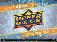 2020/21 Upper Deck Extended Series Hockey 24-Pack Box Preorder - June Release