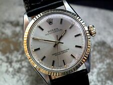Stunning 1967 Steel & Gold Rolex Oyster Perpetual Gents Vintage Watch