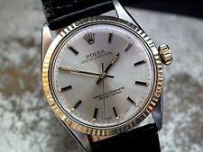Splendido 1967 in acciaio e oro Rolex OYSTER PERPETUA Gents Orologio Vintage