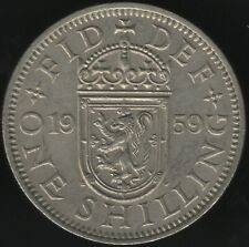 More details for 1959 scottish one shilling | better date | pennies2pounds
