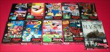 10 Original Empty Game Boxes for the Atari Jaguar & CD System