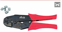 6-10mm2 AWG10-7 Steel wire rope Terminals Ratchet Crimping Tool Plier Crimper