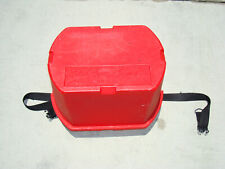 Air Line by J Sink Red Storage Case with Travel Lid