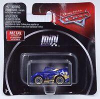 Disney Pixar Cars Mini Racers #1 Metallic Danny Swervez Metal Vehicle Mattel New