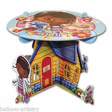 25cm Disney Doc McStuffins Niños Fiesta clínica Casa Soporte De Pastel De Cumpleaños