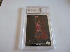 Michael Jordan 200 Upper Deck #84 Beckett Graded Basketball Jersey Card Mint 10