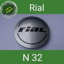 N 32 Rial Orginal silber Nabenkappen  Felgendeckel 64 mm 1 St.