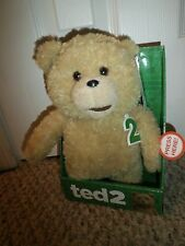"Ted 2 Talking Plush Teddy Bear Doll 11"" Soft Toy"