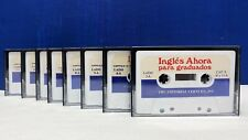 Ingles Ahora English Language Learning Course Cassette For Spanish