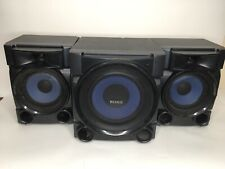 SONY MINI HIFI SYSTEM 2 SS-EC709iP 2.A5 And 1 SS-WG909iP EUC Tested Works