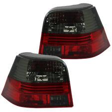 Rückleuchten Klarglas Set für VW Golf 4 Limo Bj. 97-03 Rot/Schwarz