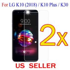 2x Clear LCD Screen Protector Guard Cover Film For LG K10(2018) / K10 Plus / K30