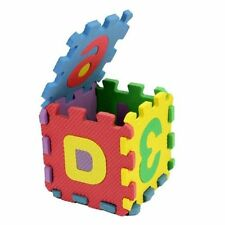 36pcs Unisex Mini Puzzle Kid Educational Toy Alphabet Letters Numeral Foam PH