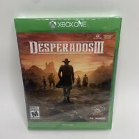 NEW Desperados III 3 - Microsoft Xbox One Factory Sealed THQ NORDIC SHIPS FAST