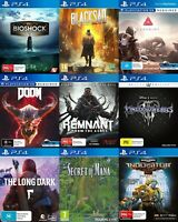 PS4 Playstation 4 Game - Choose Your Own Title *Free Next Day Post from Sydney*