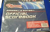 LITTLE LEAGUE BASEBALL & SOFTBALL SCOREBOOK 25 games NEW 67 pages buy4 get1 free