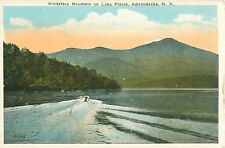 Whiteface Mountain on Lake Placid Adirondacks New York Postcard 13455