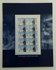 Australia 2000 SG1970 Queen Elizabeth II's Birthday S/let 10, in sealed pack, UM