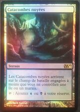 Catacombes Noyées PREMIUM / FOIL VF - French Drowned Catacombs - Magic mtg